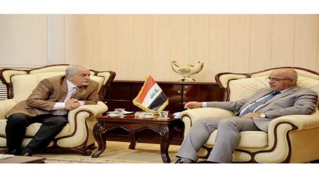 وزيرالتعليم العالي والبحث العلمي العراقي يستقبل في بغداد رئيس جامعة عمان الأهلية والوفد المرافق