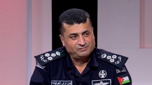 خالد الزبون يهنيء العوايشة بتسلمة مساعد مدير الأمن العام للأقاليم