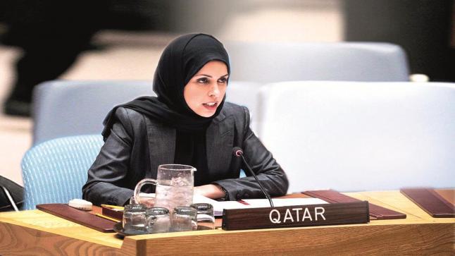دولة قطر تحذر من خطورة استمرار الوضع الراهن في الأراضي الفلسطينية المحتلة