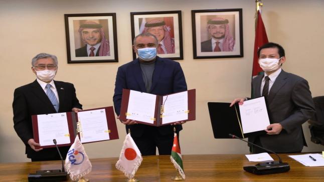 توقيع اتفاقية منحة يابانية لتأهيل منظومة مياه محطة زي بقيمة 22.9 مليون دولار