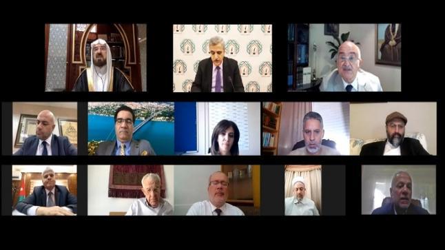 بمشاركة الأمير الحسن بن طلال لقاء يناقش دور الزكاة والوقف في تخفيف آثار جائحة كورونا