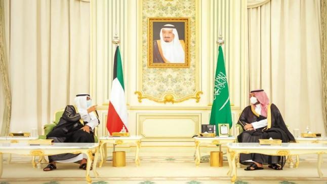 الأمير محمد بن سلمان وولي عهد الكويت يبحثان تعزيز التعاون – صور
