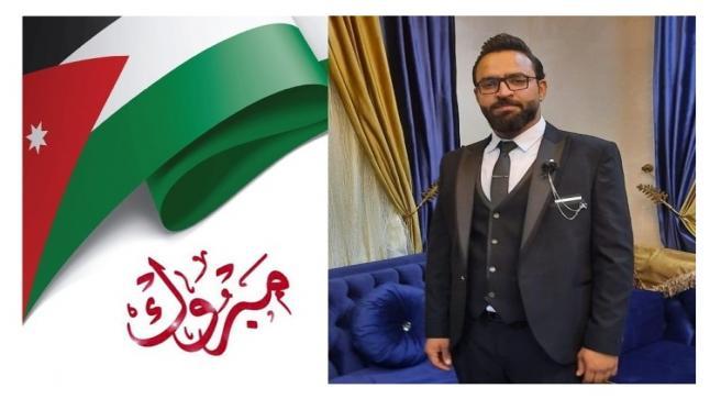 ابو طلال العموش يهنيء المختار جلال الزواهرة بمناسبة زفاف نجله قيس