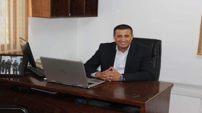 الرائد أنس أحمد عودة المحارب العجارمة رئيسا لوحدة الجرائم الإلكترونية ,,,,مبارك