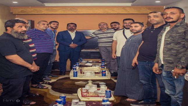 ابناء الهاشمي الشمالي في الدائرة الاولى عمان يعلنون مؤازرتهم للمرشح علي عليان الزبون
