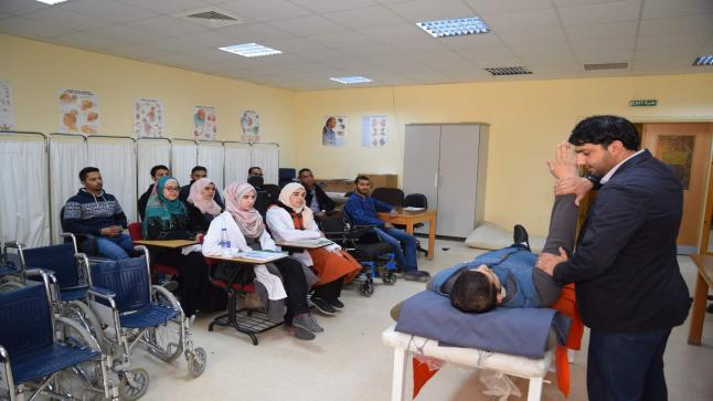 تخصصا العلاج الطبيعي والعلاج الوظيفي في الجامعة الهاشمية قبلة للطلبة العرب والأجانب