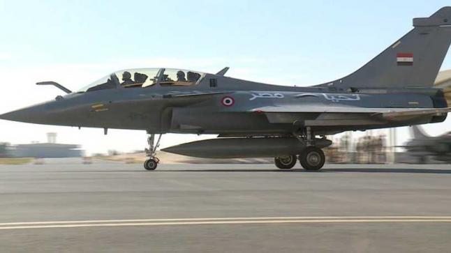 مصر تعلن شراء 30 طائرة من طراز رافال جديدة