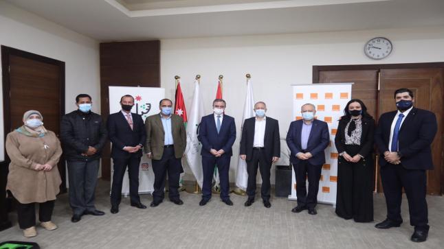 وزارة الشباب وأورانج الأردن توقعان اتفاقية تعاون مشترك في مجال المراكز الرقمية الممولة من الاتحاد الأوروبي