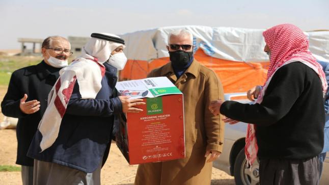 سفارة دولة الإمارات في الأردن تنفذ المرحلة الثانية من حملة إغاثة المتضررين من البرد والشتاء