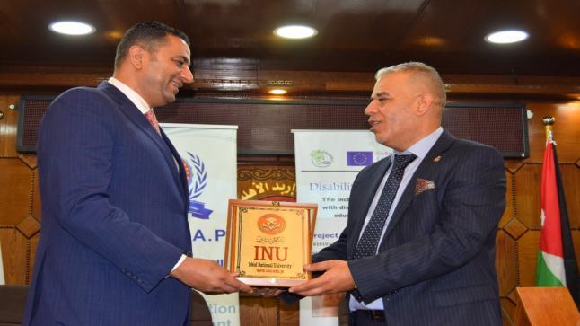 جامعة إربد الأهلية تعقد ورشة عمل بعنوان التعليم الجامعي للجميع برعاية النائب خالد أبو حسان