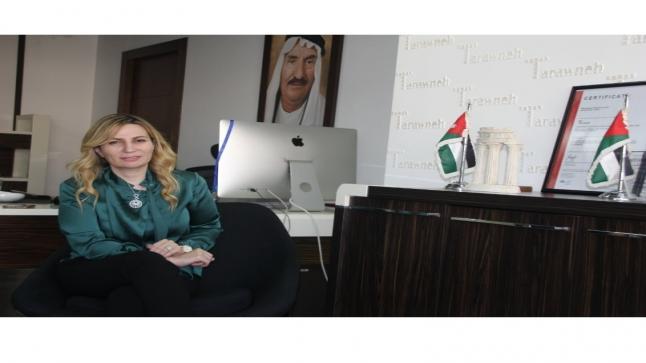 بثينة الطراونة: مهندسة قلبها كركي وهواها عماني وطرحها مدني