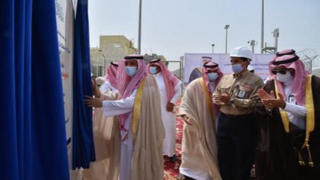 سمو أمير نجران يفتتح محطة توزيع الكهرباء بمحافظة ثار – بالصور