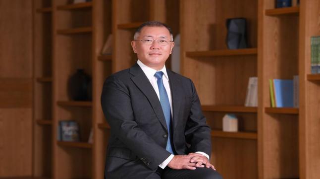 تنصيب جونغ إي-سون كرئيس لمجموعة هيونداي موتورز