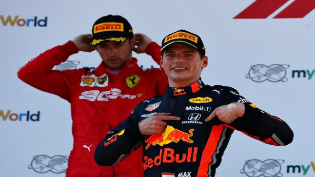 هوندا، فيرشتابين يحققان أول فوز بالفورمولا 1 في موسم2021