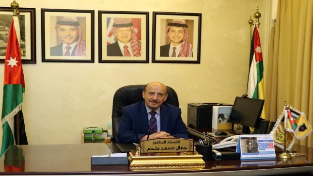 الدكتور ملحم يُباشر أعماله مديراً عاماً لمستشفى الجامعة الأردنية