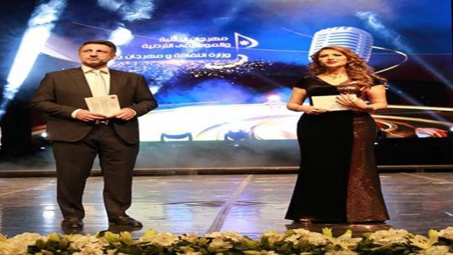 زين عوض تضيء ليالي مهرجان الموسيقى والأغنية الأردنية تقديماً وغناءً