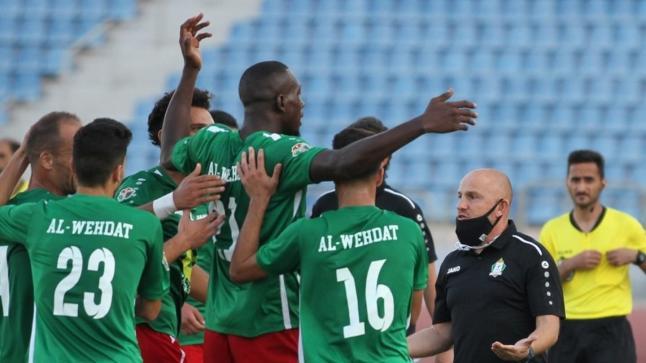 نادي الوحدات يضمن الفوز بلقب الدوري الأردني