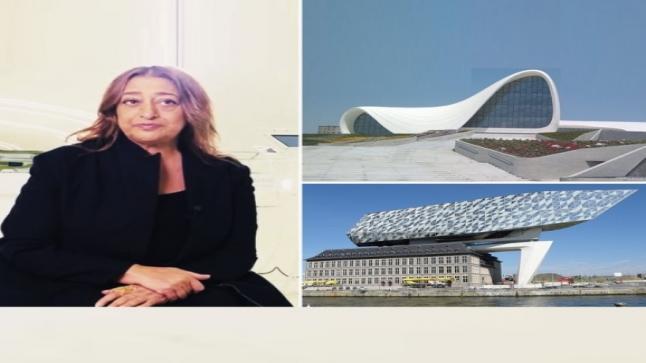 """تعرف على""""زها حديد"""" أقوى مهندسة معمارية في العالم صاحبة التصميمات الخيالية – فيديو وصور"""