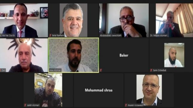 """مناقشة رسالة الماجستير رقم (48) عن بعد في """"عمان العربية"""" حول أثر خصائص الحوكمة المصرفية في تحسين الأداء المالي"""