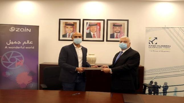 شراكة بين مجمع الملك الحسين للأعمال وشركة زين لبناء وإدارة بنية تحتية متطورة في المجمع