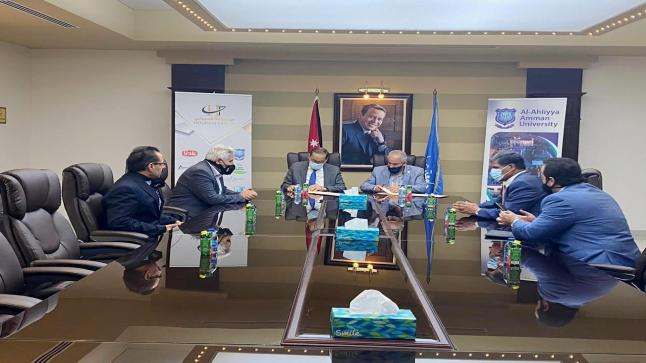 مذكرة تفاهم بين جامعة عمان الأهلية ومركز العالم العربي للتنمية الديمقراطية وحقوق الإنسان